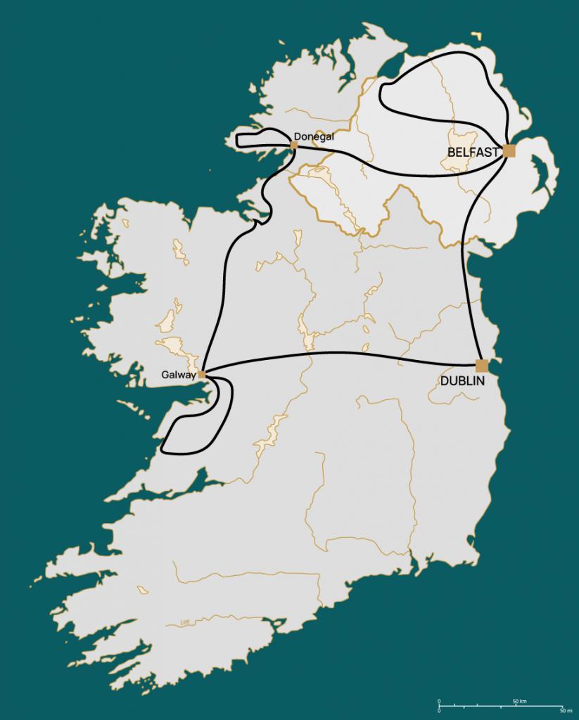 North Coast and Wild Atlantic Way